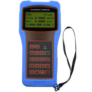 Handheld Clamp-on Ultrasonic Flow Measurement