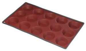 Two Color Silicone 15 Cup Tartlet Muffin Pan & Cake Mould &Bakeware FDA/LFGB (SY1906) pictures & photos