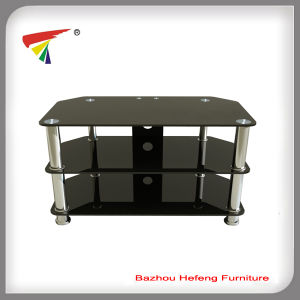 China Black Tempered Glass Tv Stand For Sale Tv006 China Tv
