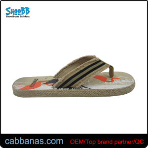 cff482516 China Stylish Casual Beach Sandals with Straw for Men′s - China ...