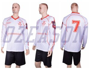 Ozeason Sportswear Team Dry Fit Sublimation Soccer Jersey pictures & photos
