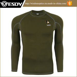 Outdoor Tactical Training Sport Long-Sleeved Thermal Underwear pictures & photos