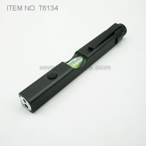 4 in 1 Tech Tool Laser Pen - LED Torch, Spirit Level, Laser Pointer and Measure Ruler