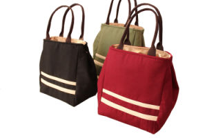 Canvas Tote Cooler Bag