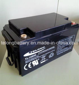 12V65ah Solar Power Battery with CE UL Certificate pictures & photos