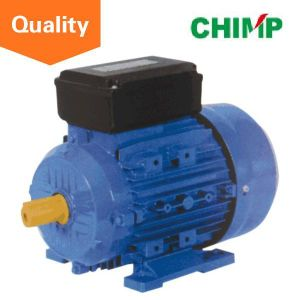 Chimp Ce Approved My Series Capacitor-Start Induction Aluminum 2 Poles 1.1kw Single-Phase Electric Motor pictures & photos