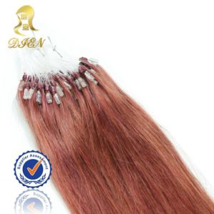 Wholesale Hair Products Micro Loop Ring Red Hair Extensions