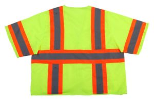 Safety Vest with Short Sleeves Made of Knitting Fabric pictures & photos