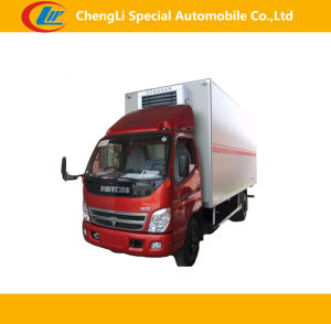 Foton 4*2 10cbm Refrigerated Truck, Ice Cream Truck pictures & photos