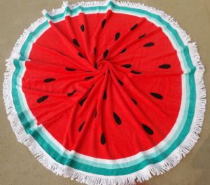 The Latest Microfiber Printed with Watermelon Beach Towel