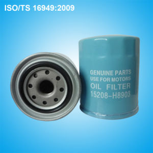 Oil Filter 15208-H8903 for Nissan pictures & photos