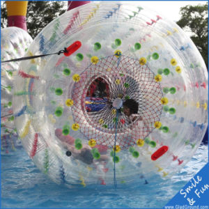 PVC Material Ce Certificate Size 2.2*2.2*1.7 for 1-2 Persons Water Roller pictures & photos