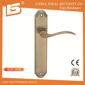 High Quality Brass Door Lock Handle-829850 pictures & photos