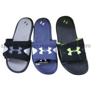 89d5c858aba30 China New Style Fashion Men′s Blow PVC Beach Slippers - China ...