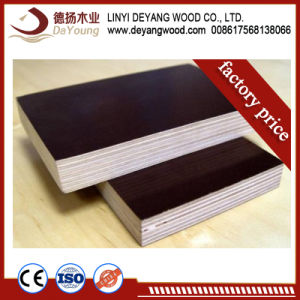 China Phenolic Film Faced Plywood Marine Shuttering Plywood For