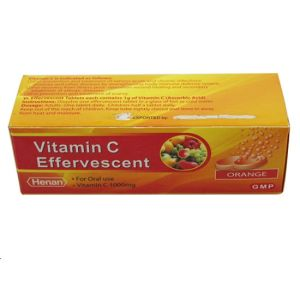 Vitamin C Effervescent Tablet 1000mg GMP Medicine pictures & photos