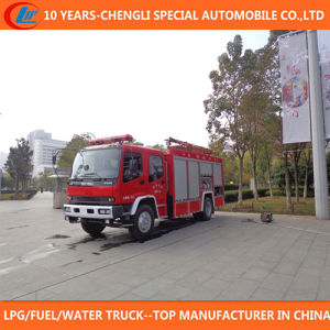 6 Wheels Adopts Japanese Brand Chassis Fire Truck for Sale pictures & photos