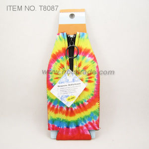 Neoprene Fashion Tie Dye Bottle Cooler (T8087)
