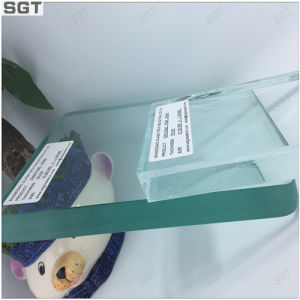 Toughened Nomal Clear Float Glass 4mm-18mm From Sgt pictures & photos