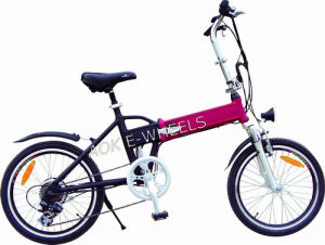 Folding Lithium Battery Electric Bike (TDE-039B) pictures & photos