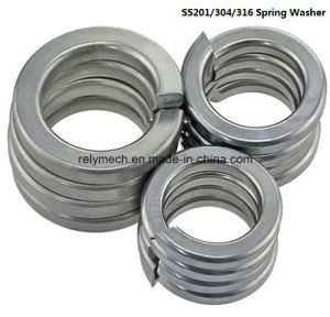 Stainless Steel 201/304/316/Zinc Plated/Black Oxide Spring Washer pictures & photos