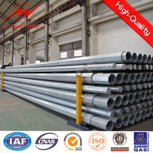 16m Meters Electric Pole Designed to Carry Polygonal Steel Pole