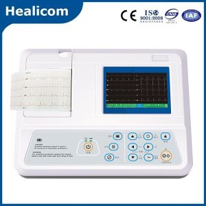 China Medical Equipment 3 Channel Color Display ECG pictures & photos