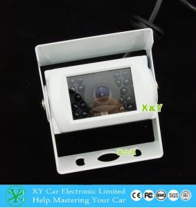 White Color 24V Rear View Van CCD Camera for Bus