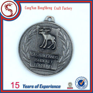 Custom Antique Finish Sport Evens Bronze Medals for Sale pictures & photos