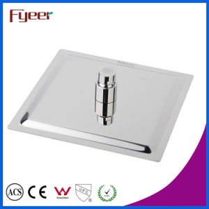 Fyeer Ultra Thin Stainless Steel Rainfall Shower Square Shower Head (QH325AS) pictures & photos
