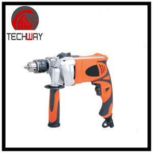 Power Tools 13mm 550W Electric Drill Impact Drill Dh-Tjid1301 pictures & photos