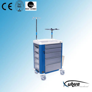 Hospital Medical Emergency Cart (P-16) pictures & photos