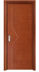 Hot Sale Simple Exterior Timber Wood Door pictures & photos