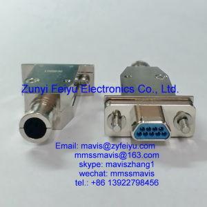 9 pin ITT Cannon D*U Series Crimp D-Sub Connector Housing Socket