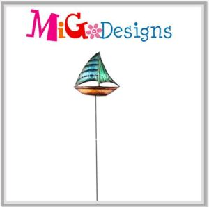 Excellent Metal Sailboat Garden Stake pictures & photos