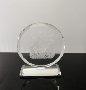 Round Crystal Trophy with Good Quality for Customeized (Ks040491) pictures & photos