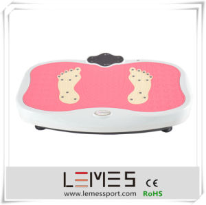 Pink Fitness Equipment Machine Music Vibration Plate pictures & photos