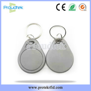 125kHz Tk4100 ABS ID Contactless Keyfob Copy Apartment Access Replacement  Fob Key