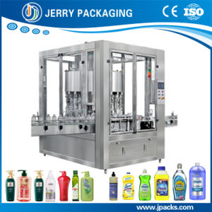 Rotary Automatic Food Cosmetic Liquid Bottling Bottle Filling Machine pictures & photos