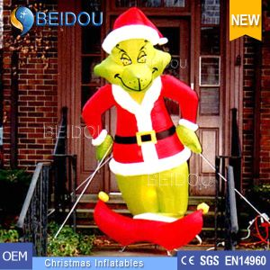 giant christmas grinch inflatables outdoor inflatable christmas grinch for sale