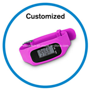 Silicone Pedometer Band pictures & photos
