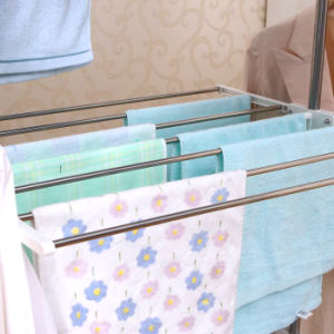 Multi-Purpose Stainless Steel Three Layer Clothes Drying Rack pictures & photos