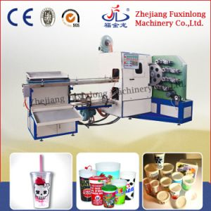 Fjl-4A Four-Color Plastic Cup Printing Machine pictures & photos