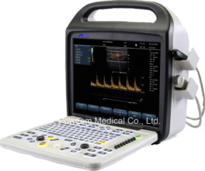 Ce Approved Hospital 4D Portable Color Doppler Ultrasound (C10) pictures & photos