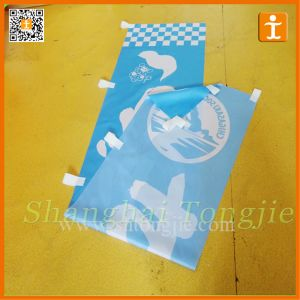 Wind Flying Rectangular Straight Vertical Flag (TJ-90) pictures & photos
