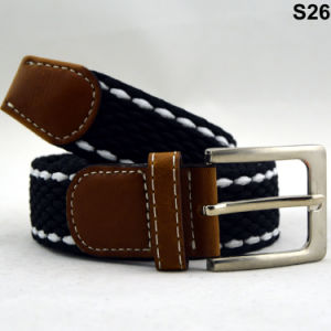 S26 Fancy Easy Matched Fashion Ladies Elastic Braided Belt pictures & photos