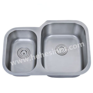 American Style Stainless Steel Kitchen Sink 7553ar pictures & photos