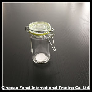 60ml Clip Lid Glass Storage Spicy Jar pictures & photos