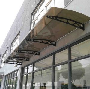 Supplier of Home Depot Betterlife Door Canopy/PC Canopy/DIY Awning/ Entry  Door Canopy/ DIY Canopy/Vordach/ PC Sheet/Polycarbonate Awning