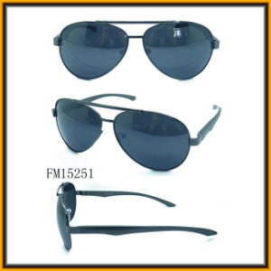 Metal Sun Glasses with FDA&Ce (FM15251) pictures & photos